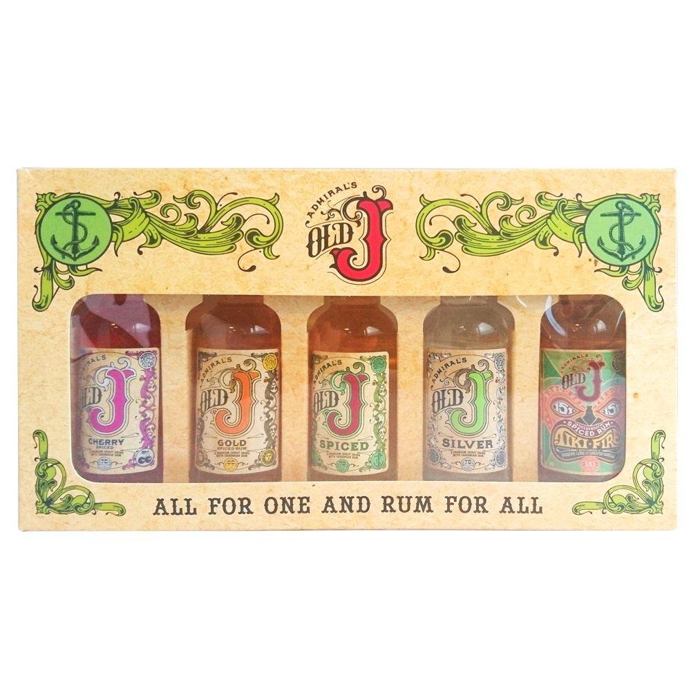 Old j miniature gift pack click n drink for Craft cocktail gift set
