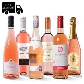 Mixed Rosé Wine Case